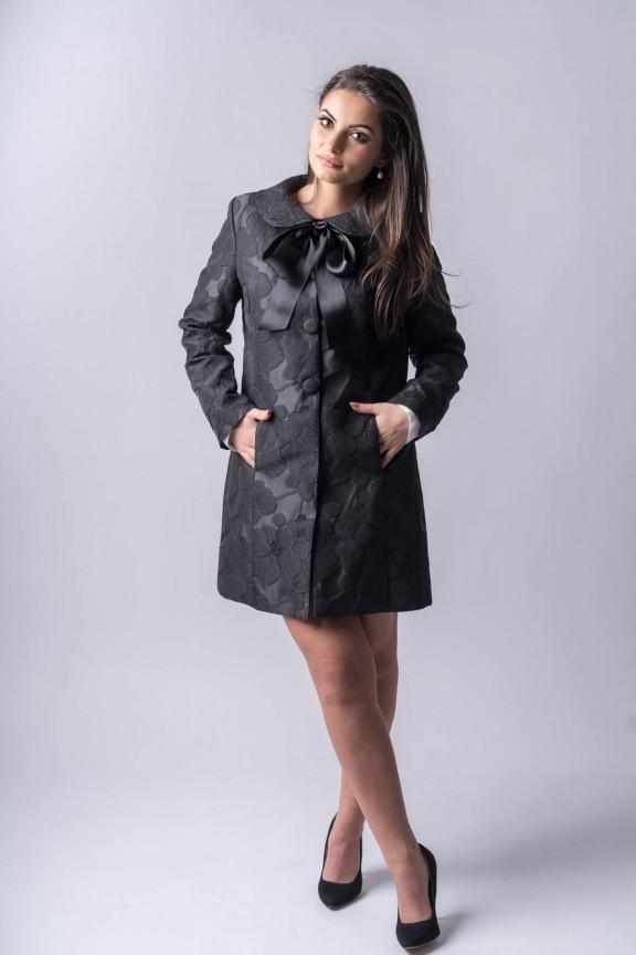 Ava Brocade Coat