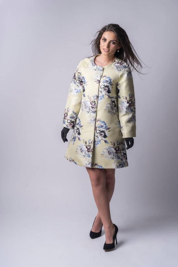 Désirée Brocade Coat