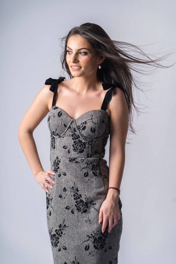 Charlotte Wool Dress
